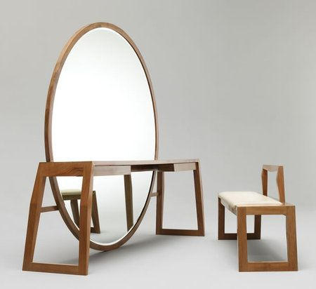 mirror bench table panchina