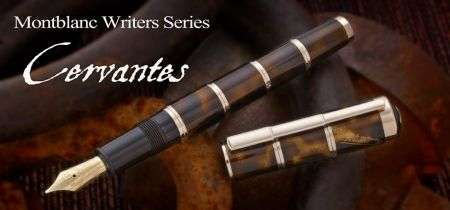 Montblanc, una Writers Edition per Cervantes