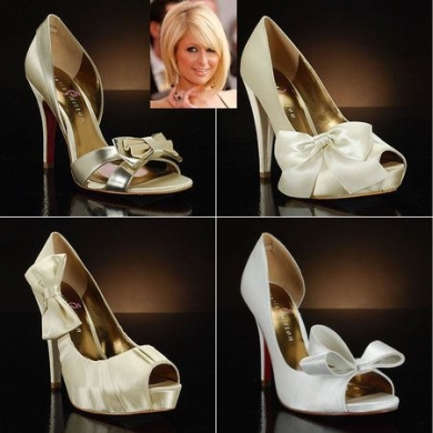 paris hiltons bridal footwear