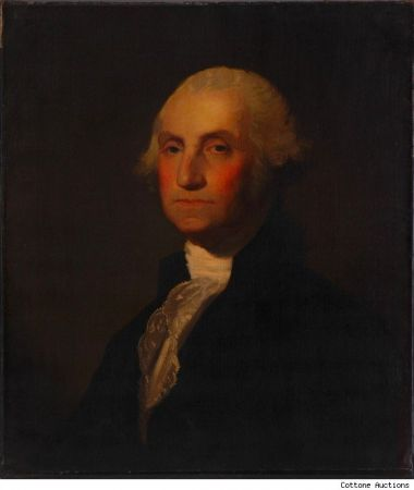 All'asta un prezioso dipinto di George Washington