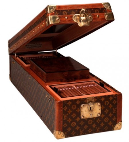 Louis Vuitton Encyclopaedia Trunk Humidor