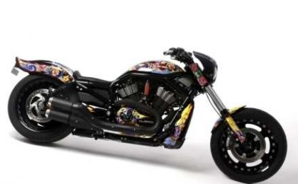 Harley Davidson by Custo, all'asta per benificienza