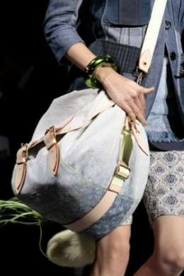 Borse 2010: il Denim va di moda con Louis Vuitton