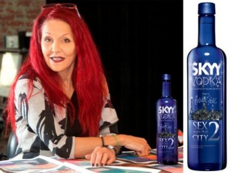 Skyy dedica una vodka a Sex and the City 2