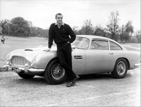 All'asta l'Aston Martin originale di James Bond