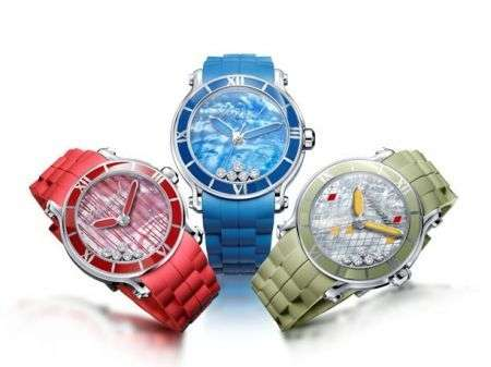Chopard: l'orologio Happy Sport XL per l'estate 2010