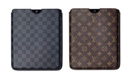 Louis Vuitton, la prima cover griffata per iPad