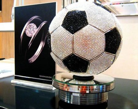 Diamanti Shimansky: Diamond Soccer Ball per i Mondiali