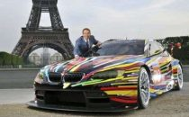 Bmw Art Car: presentata la M3 GT2 di Jeff Koons