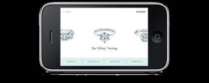 Tiffany: anello di fidanzamento da provare su iPhone