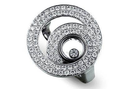 Gioielli di lusso: l'anello Happy Diamonds di Chopard