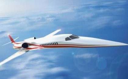 Aerei di lusso: Supersonic Business Jet