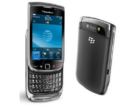 BlackBerry: il nuovo Torch 9800