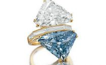 Christies: allasta un anello Bulgari con diamante blu