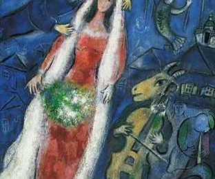 Arte: Chagall in mostra all'Ara Pacis