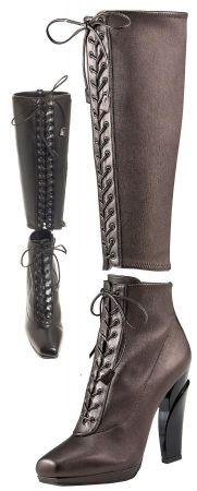 prada two piece boot