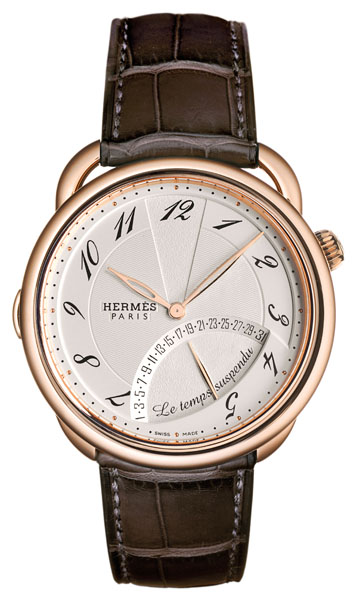 BaselWorld 2011: Le Temps Suspendu in oro rosa by Hermès