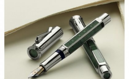 Giada, platino e oro per la Pen of the Year 2011 di Faber Castell