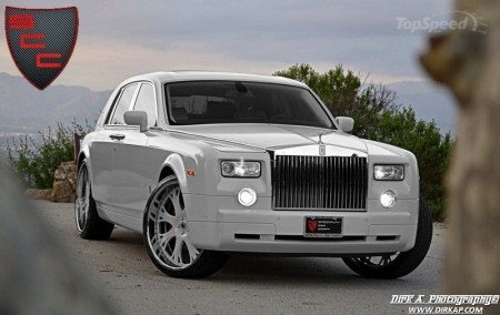 Kit biancoperla per la Rolls-Royce Phantom 2011