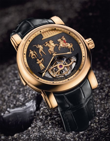 BaselWorld 2011: oro e pietre preziose per Alexander the Great by Ulysse Nardin