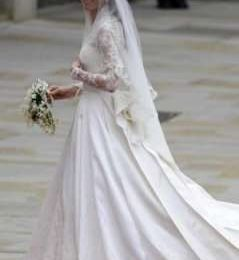 William e Kate: per la sposa abito di Alexander McQueen ispirato a Grace Kelly