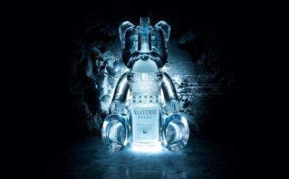 Belve Bear, l'Art Toy da cinquemila euro di Belvedere Vodka in limited edition