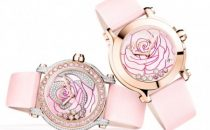 Diamanti e oro rosa per il nuovo La Vie en Rose Happy Sport by Chopard