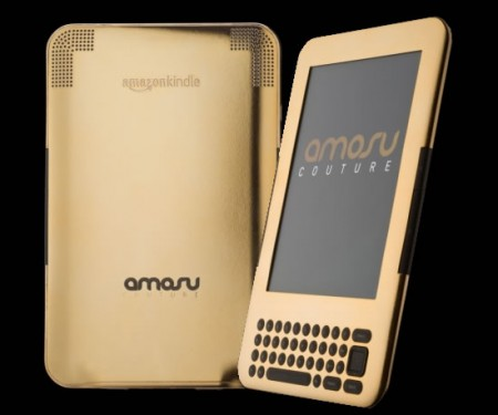 Oro a 24 carati per il primo ebook reader Kindle di lusso by Amosu