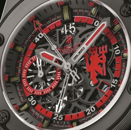 "Hublot celebra il Manchester United col nuovo ""King Power"" in limited edition"