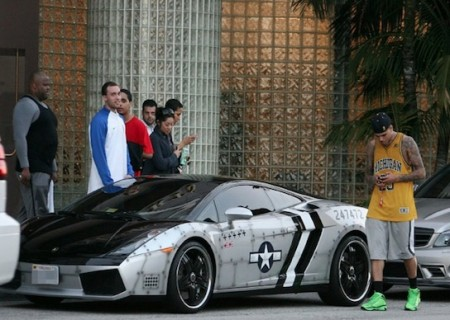 lamborghini chris brown