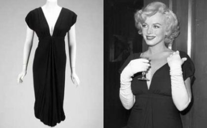 Record di 348mila dollari per un abito originale di Marilyn Monroe battuto all'asta