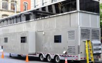 A New York un megacaravan di lusso per Will Smith