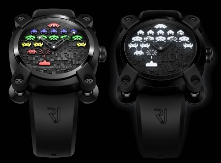Romain Jerome presenta l'orologio dedicato a Space Invaders