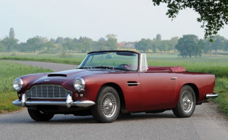 In vendita l'Aston Martin DB4 Vantage Convertible 1961 di sir Peter Ustinov