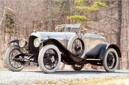 All'asta la prima Bentley prodotta al mondo del 1921