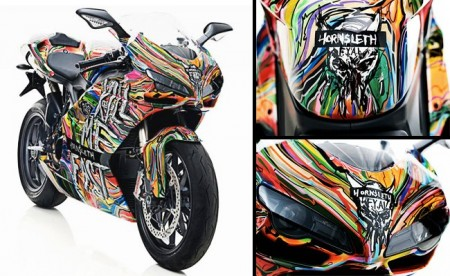 """Kill me fast"" by Ducati, moto d'artista in limited edition"