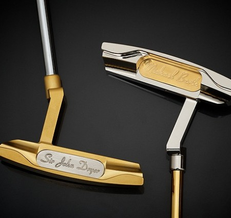 Oro e platino per l'esclusivo putter Golden by Barth & Sons