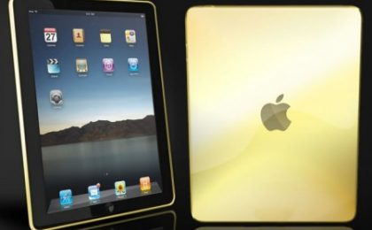 Camaél presenta Solid Gold iPad, il primo tablet in oro massiccio