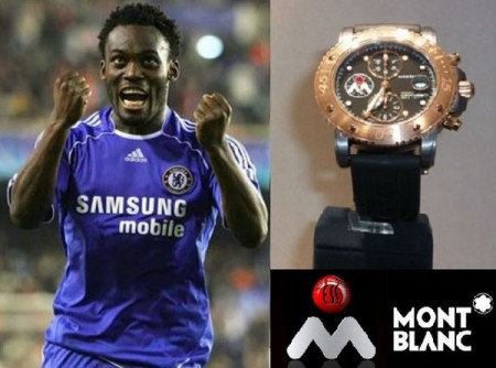 Oro rosa nel nuovo Michael Essien Foundation Watch Mont Blanc in limited edition