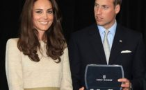 Gioielli in platino by Harry Winston in dono a William e Kate