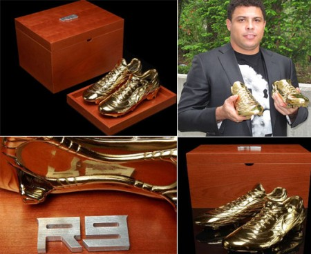 "Nike in oro ""R9 Mercurial Golden"" per celebrare Ronaldo"