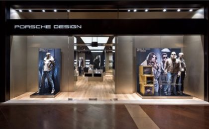 Porsche Design apre il suo primo showroom a Singapore