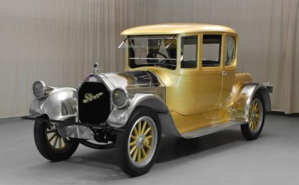 Oro a 24 carati per la Pierce-Arrow 48 Coupé del 1920 da 300mila dollari