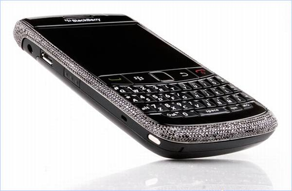 blackberry diamante nero
