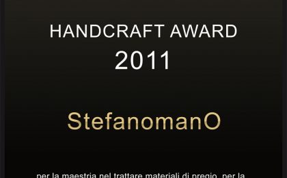 Myluxury Handcraft Award, sul podio tutto Made in Italy StefanomanO, Roberto Coin e Angelo Inglese