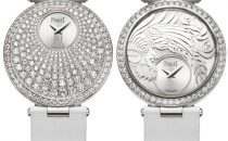 Oro bianco e diamanti nellorologio Piaget Limelight Twice Limited Edition