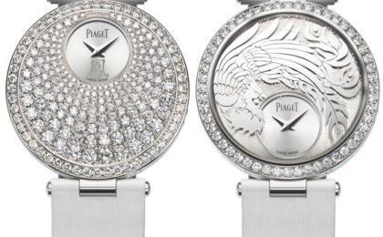 Oro bianco e diamanti nell'orologio Piaget Limelight Twice Limited Edition