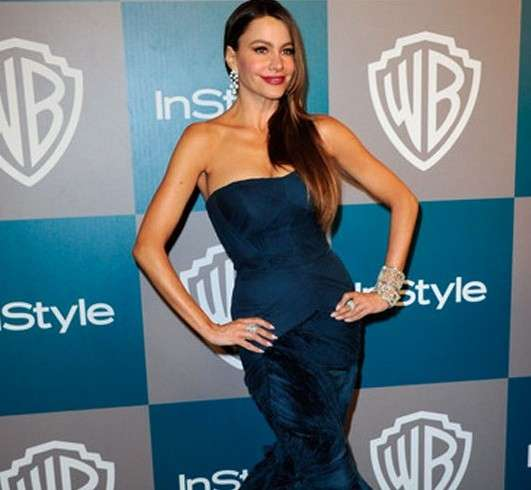 Gioielli da red carpet, Sofia Vergara ai Golden Globe con diamanti da record
