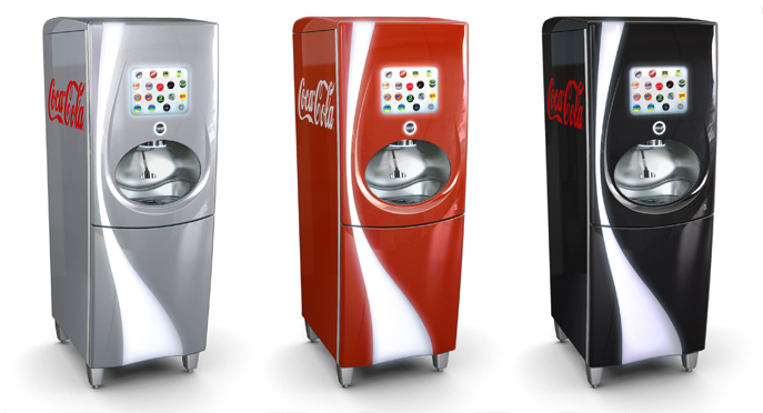 Il distributore Pininfarina di Coca Cola vince il Good Design Award 2011