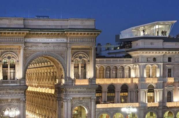 The Cube A Milano Cena Con Vista Sul Duomo My Luxury